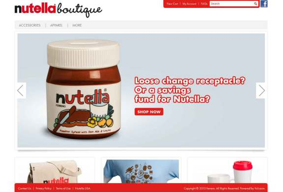 nutella boutique