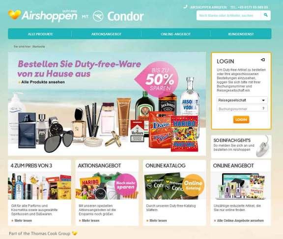 Condor-Airshopping