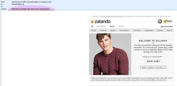 Zalando_email-Subject