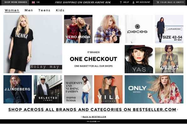 Bestseller_one-checkout