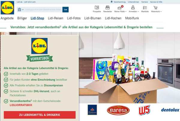 Lidl-vorratsbox