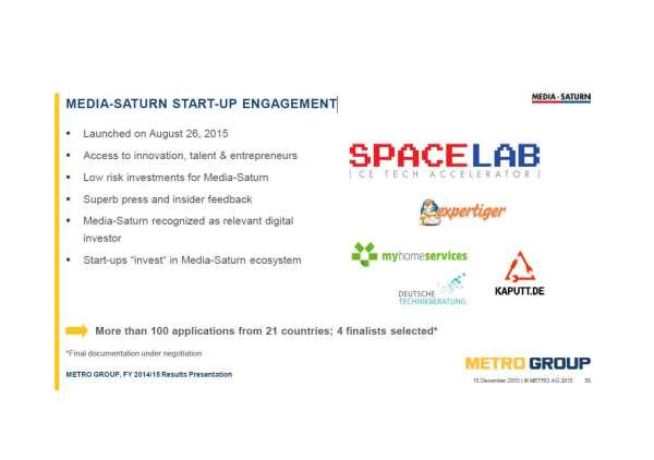 MEDIA-SATURN-START-UP-ENGAG
